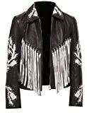 Jacket - Birds Fringe Black