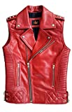 Leather Quilted Vest